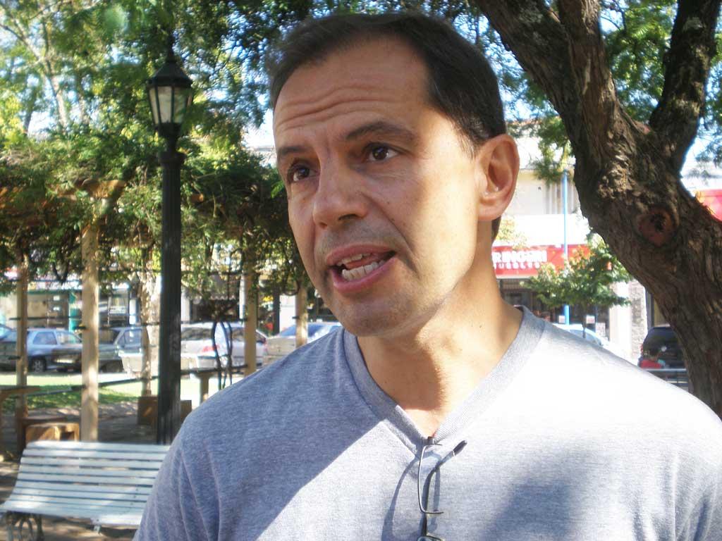 Daniel Boyeras se refirió a las obras en barrio Santa Rita