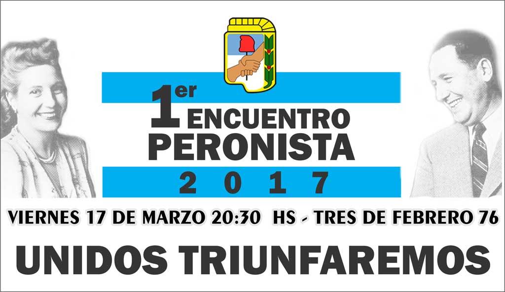 Primer encuentro peronista 2017