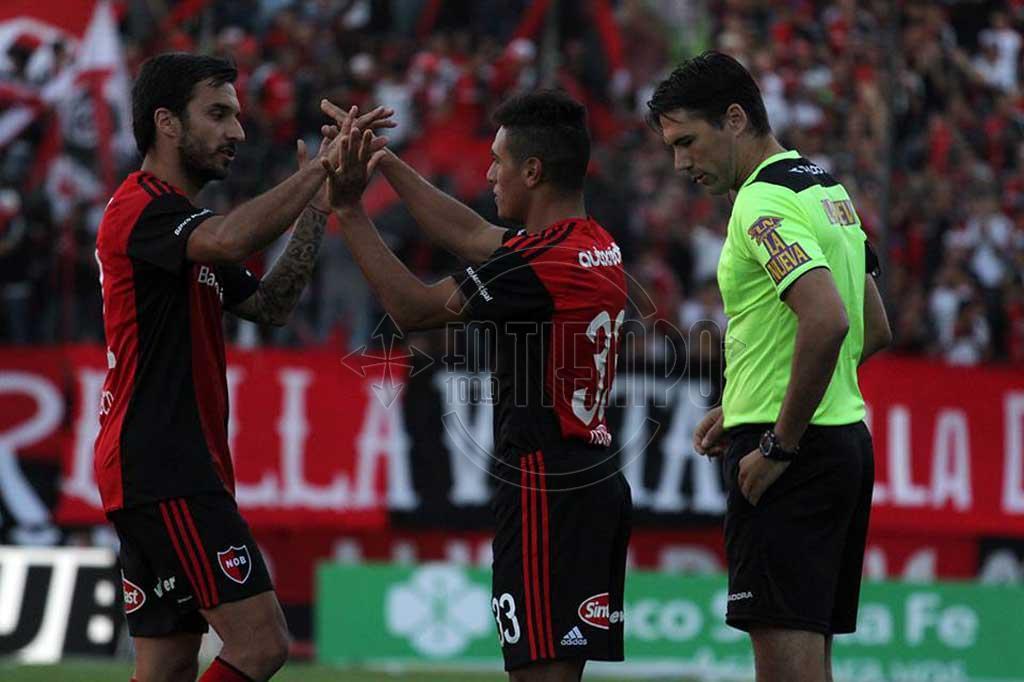 Matias Tissera debutó en la primera de Newells