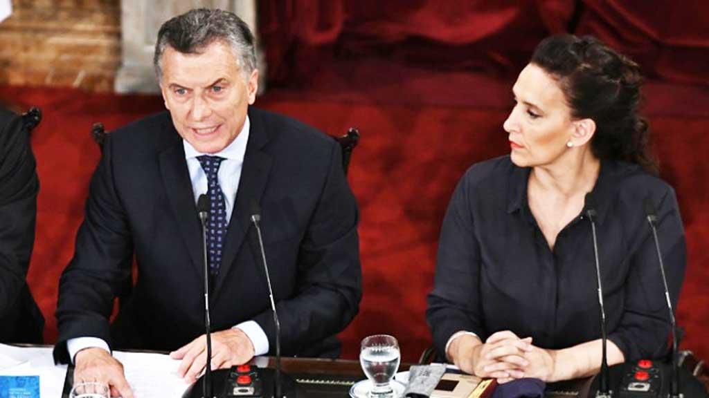 Macri inauguró las sesiones ordinarias: