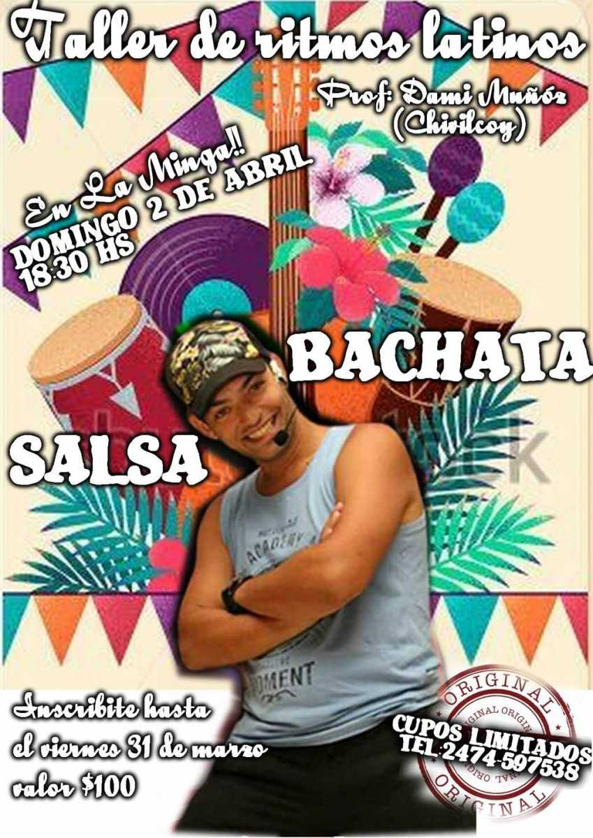 Taller de salsa cubana y bachata en