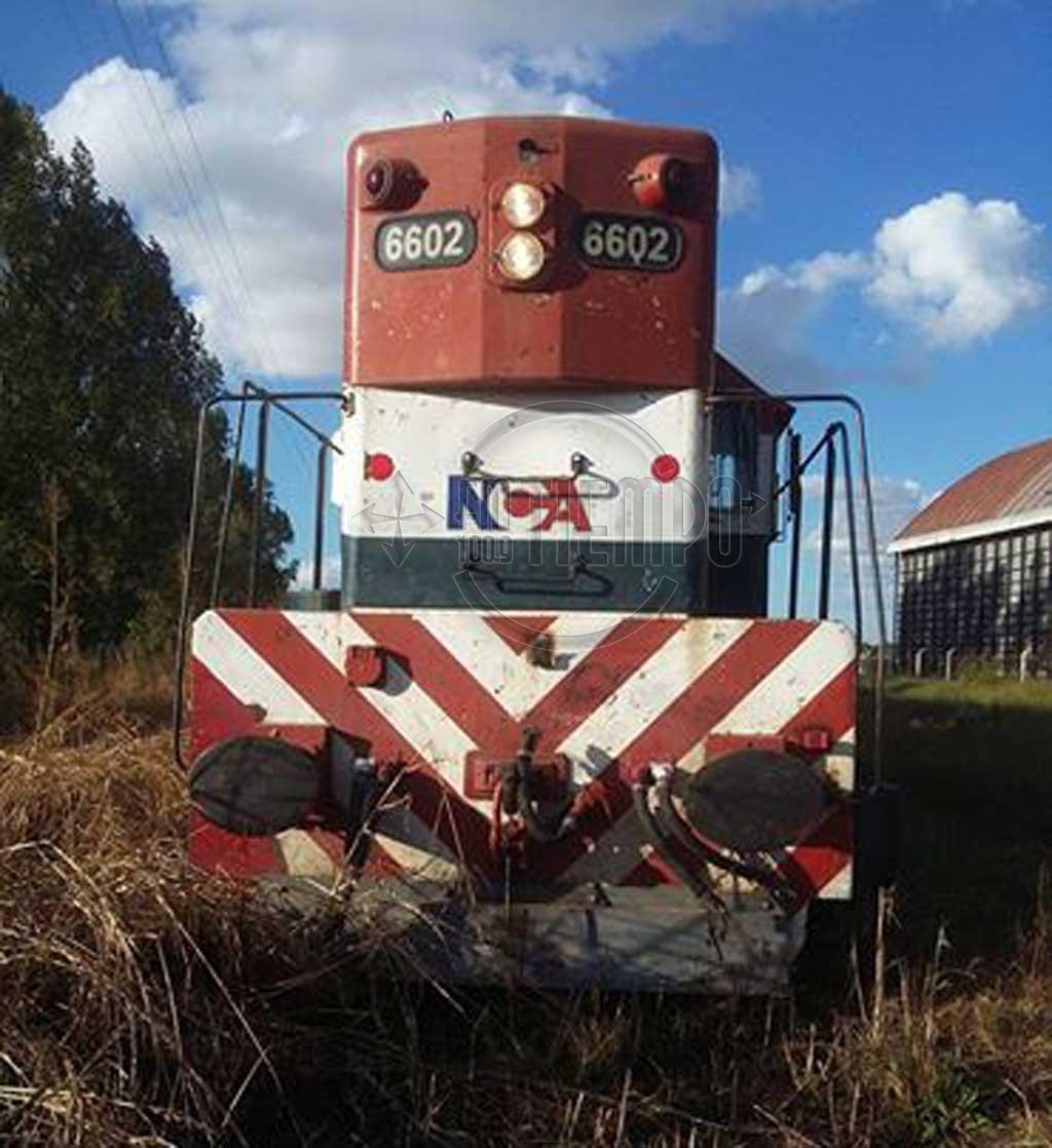 Descarriló el tren de carga