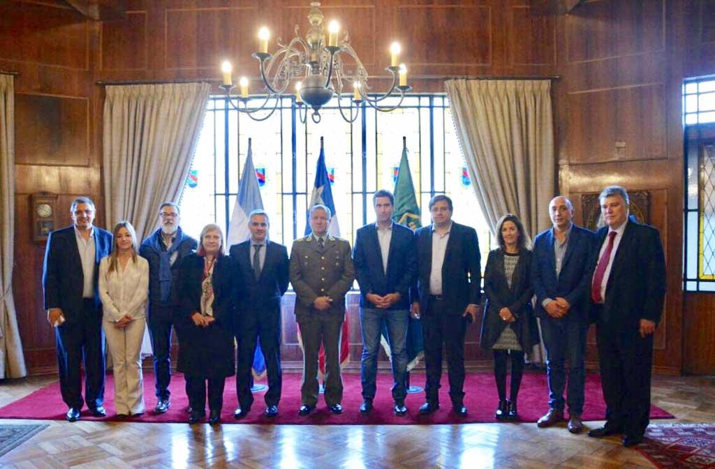 Diputados visitan Chile para analizar políticas de seguridad