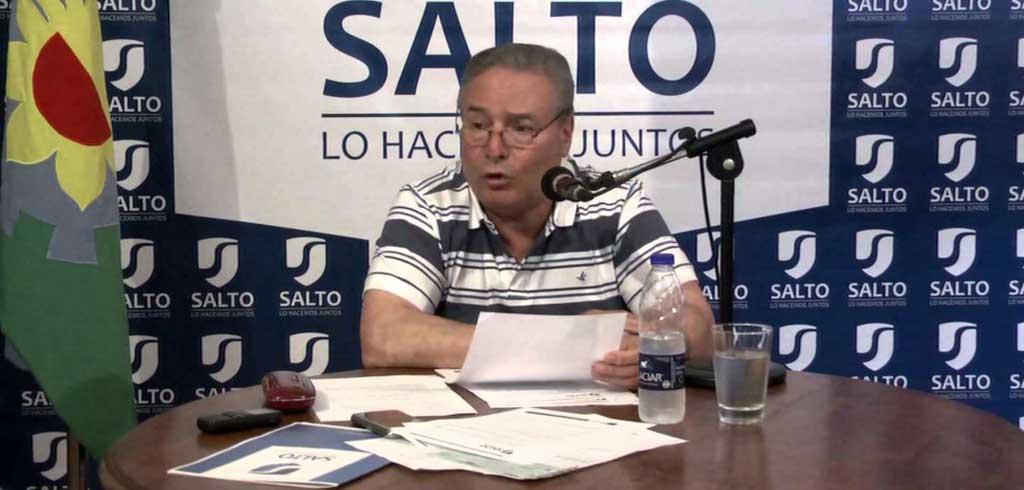 El Intendente de Salto elogió a Vidal: