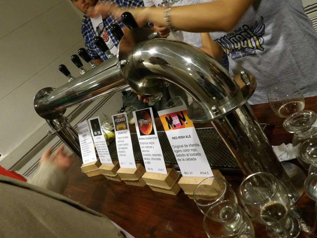 "El senado bonaerense presentó las jornadas pymes: ""cerveza artesanal"""