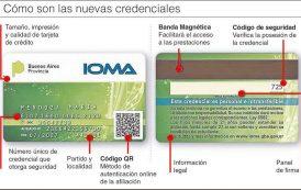 La nueva credencial plástica de IOMA será la única válida a partir del 1 de marzo