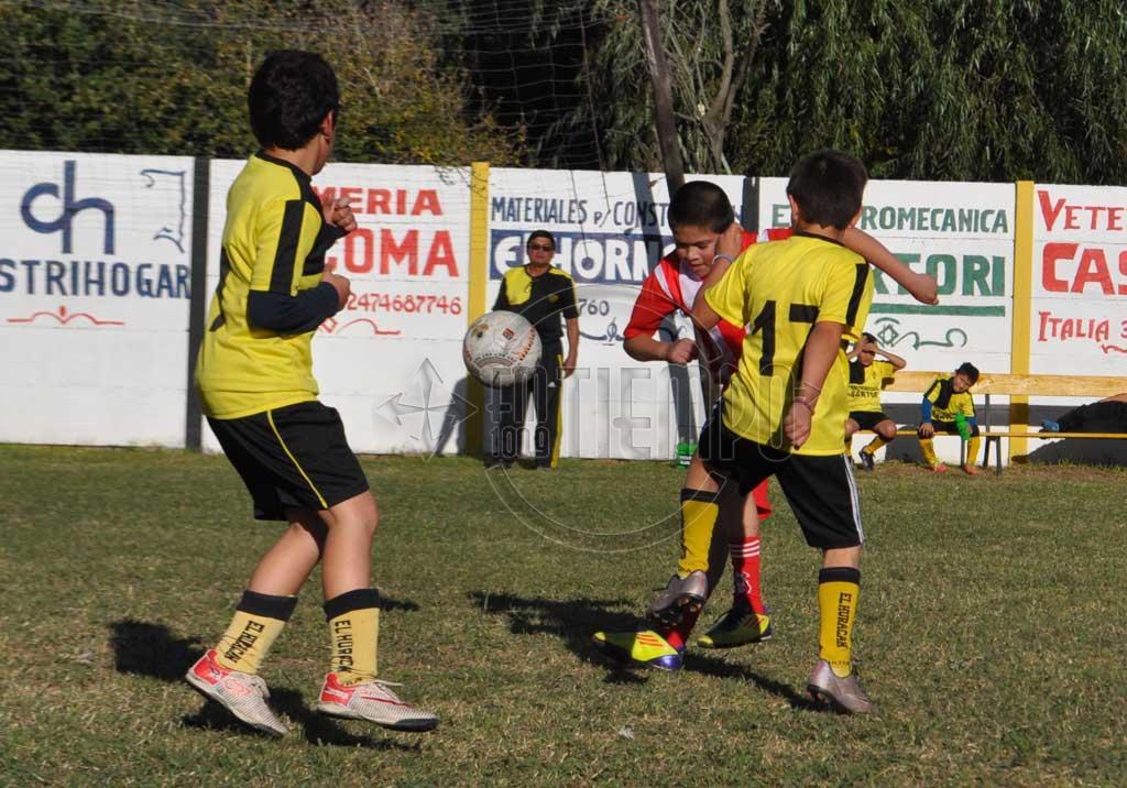 Fútbol infanto-juvenil: días y horarios para el fin de semana