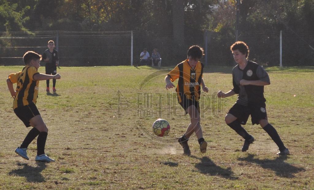 Fútbol: la actividad del fin de semana para los mas chicos