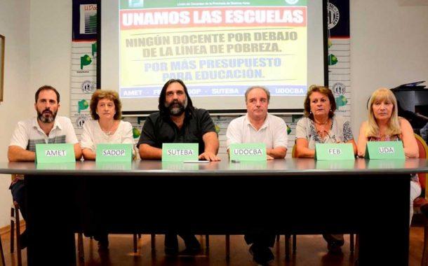 """FUDB: """"Queremos que Vidal responda nuestros reclamos"""""""