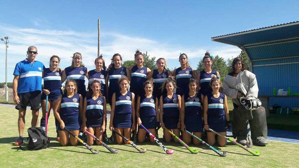 Hockey: jornada perfecta para Argentino en Chacabuco