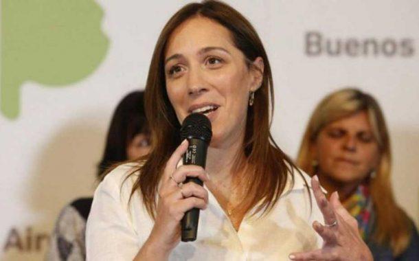 Vidal apuntó contra el peronismo y dijo que no ve diferencia entre Cristina y Randazzo