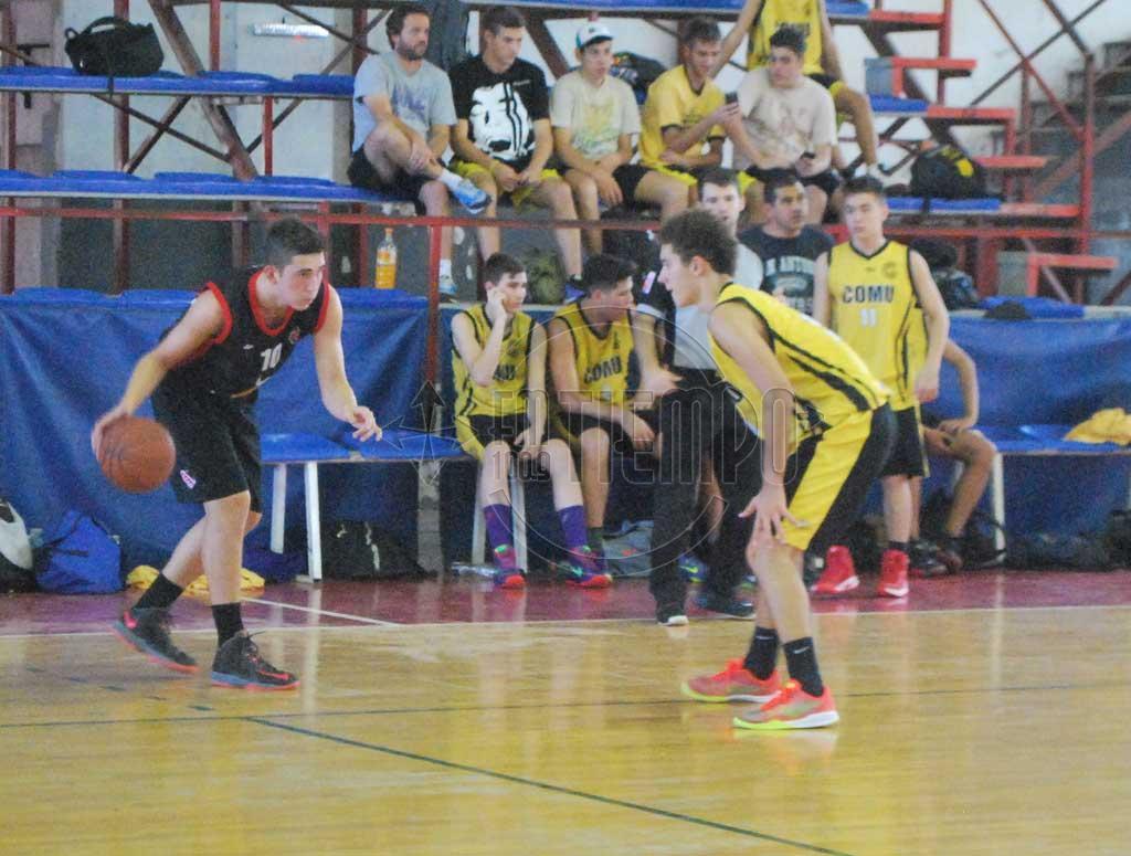 Inferiores de básquet: Sportivo visitó a Sport