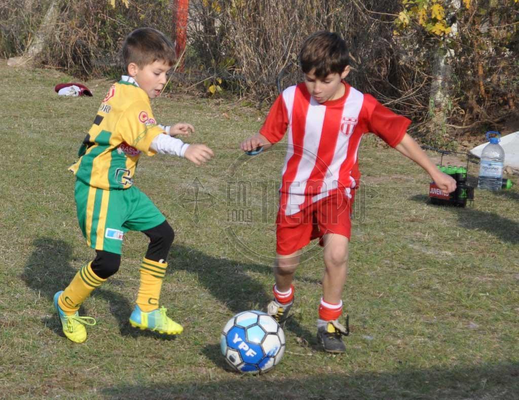 Fútbol infanto - juvenil: partidos del fin de semana