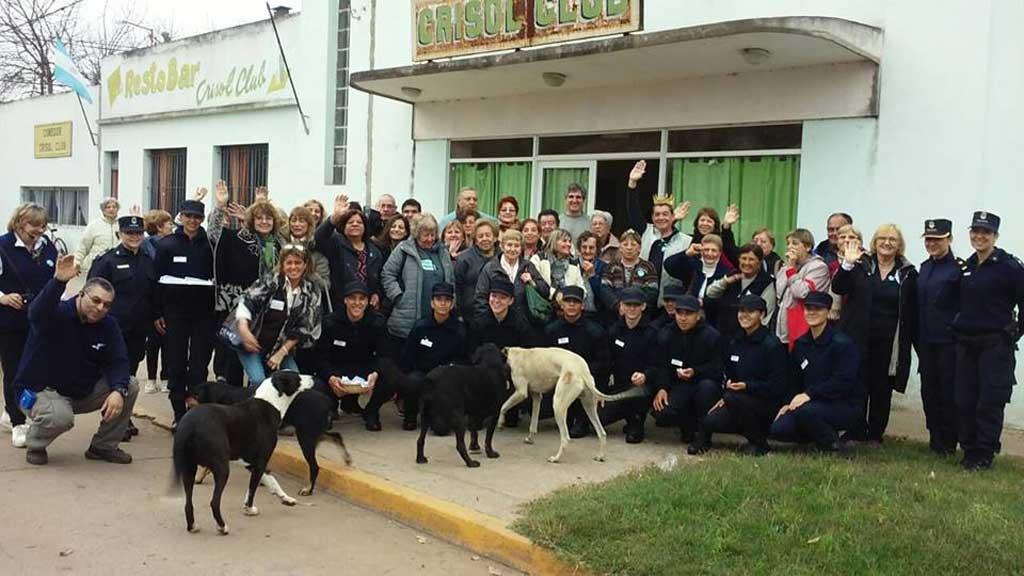 Rafael Obligado recibió al primer contingente de turistas rurales