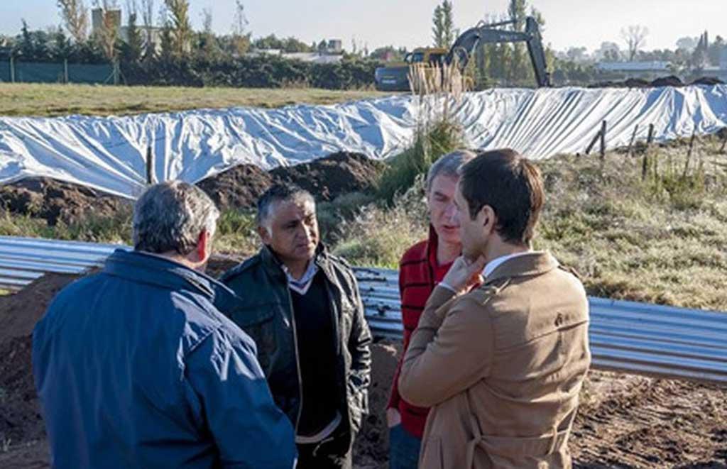 Construirán un terraplén de 10 kilómetros para contener el agua en torno a Junín