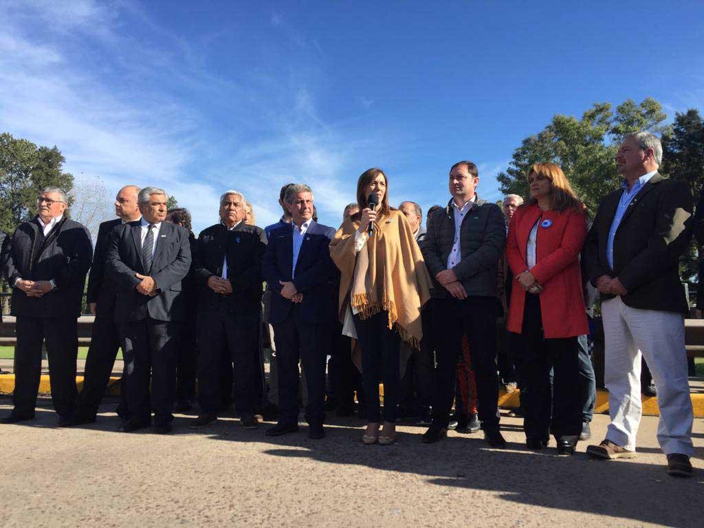 Vidal anunció obras en la región con la presencia del Intendente Rossi