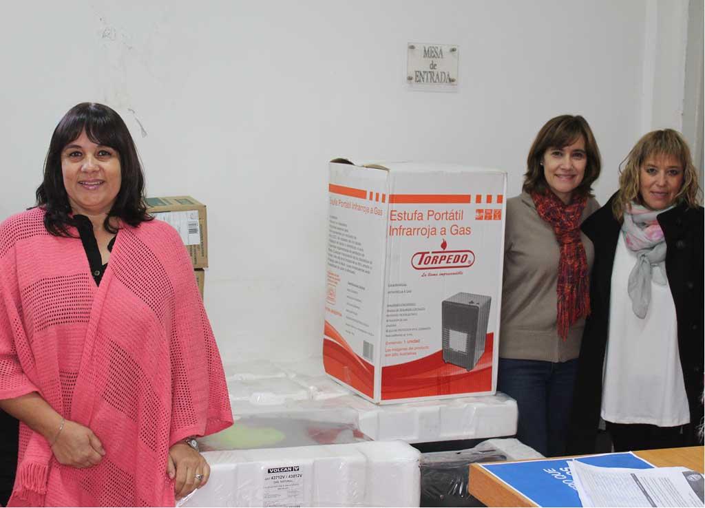 El Consejo Escolar repartirá calefactores en varias instituciones educativas