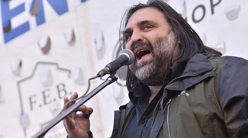 """Baradel: """"Esta semana los sindicatos no vamos a hacer medidas de fuerza"""""""