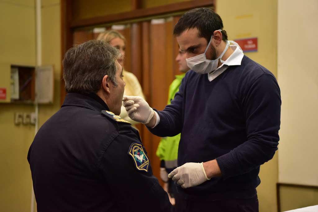 Comenzaron los controles toxicológicos a funcionarios y policías
