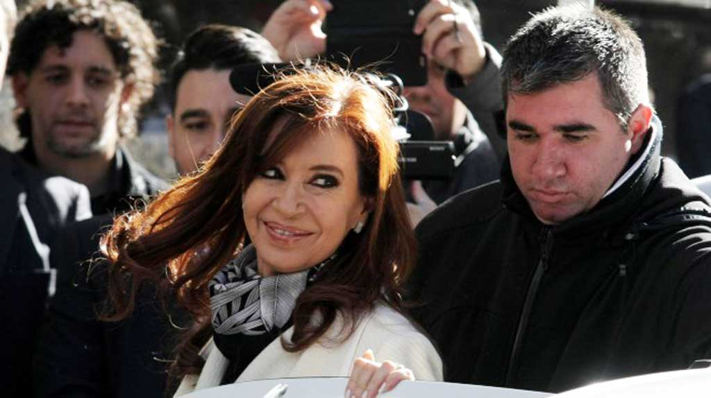Cristina Kirchner dice que se están detectando