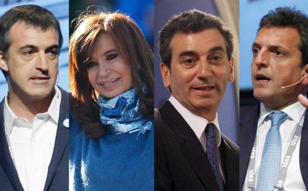 Cristina, Randazzo, Massa y Bullrich pelearán por bancas en el Senado