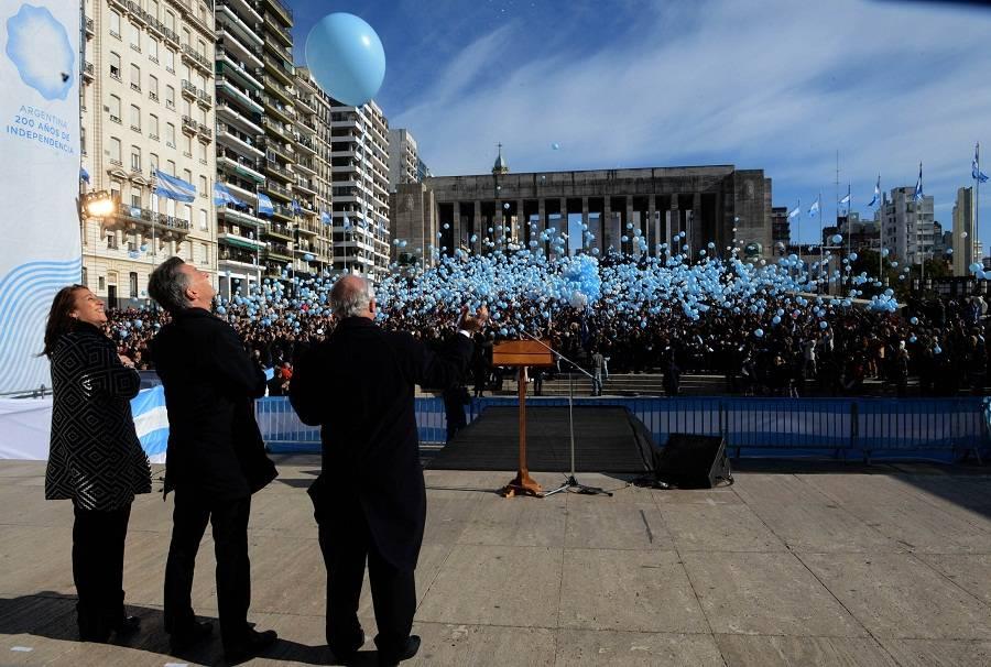 Día de la Bandera: Macri dijo que