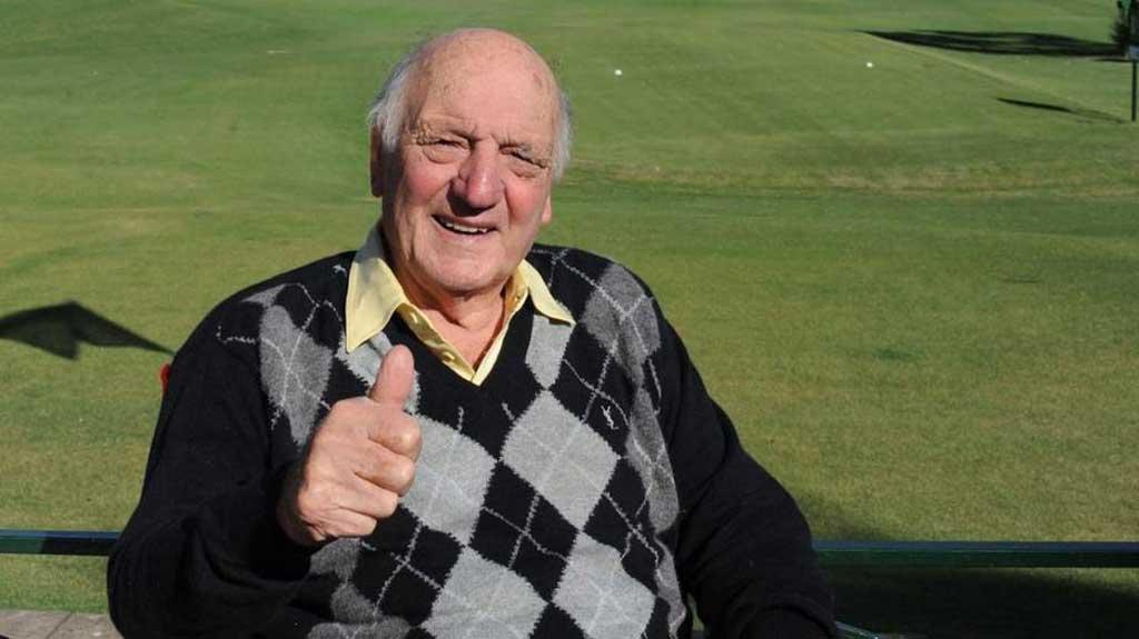 Murió Roberto De Vicenzo, el Señor Golf