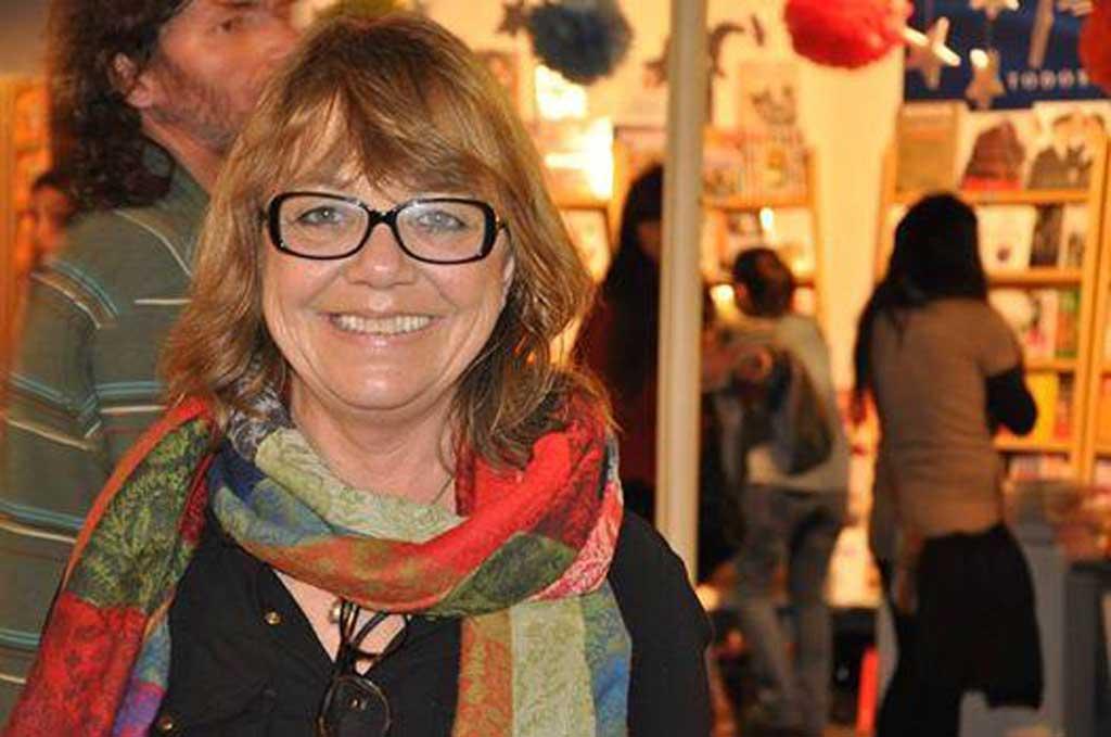 La escritora María Inés Falconi estará en la 5ta. Feria del Libro de Rojas