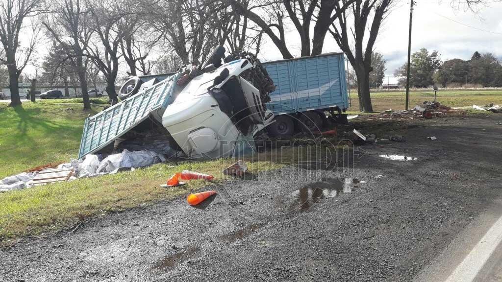 Rojense sufrió accidente en Colón
