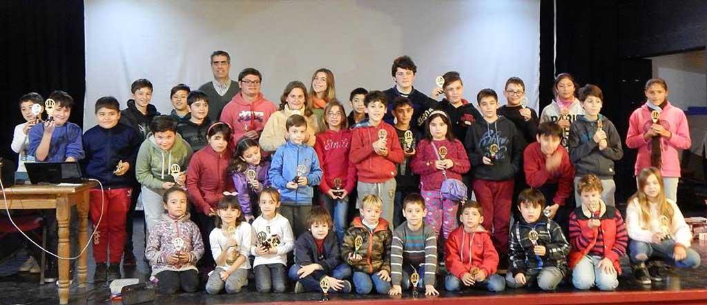 Ajedrez: destacada actuación de niños rojenses en Pergamino