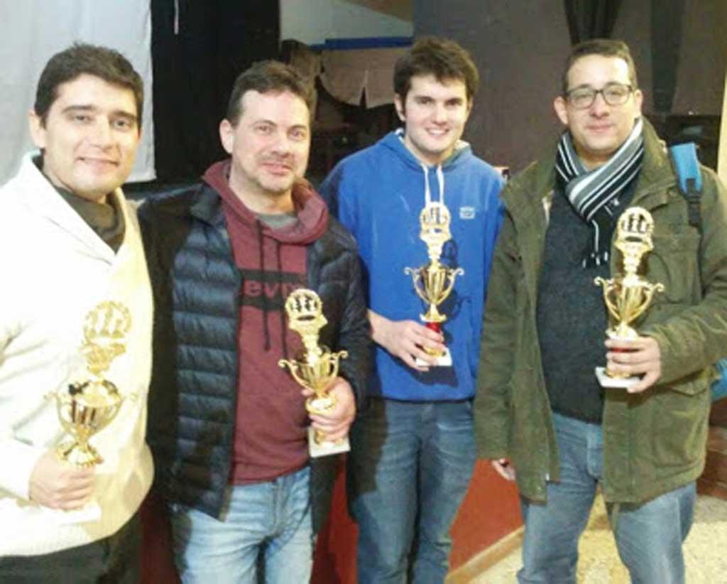 Ajedrez: Rojas se consagró subcampeón en Pergamino
