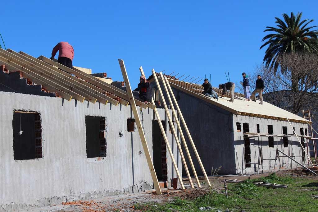 Avanza la terminación de las viviendas de Covendiar II