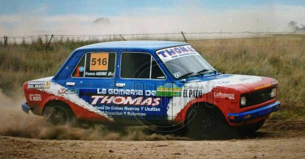 Rally Santafesino: Guido Marziali gana en San José de la Esquina