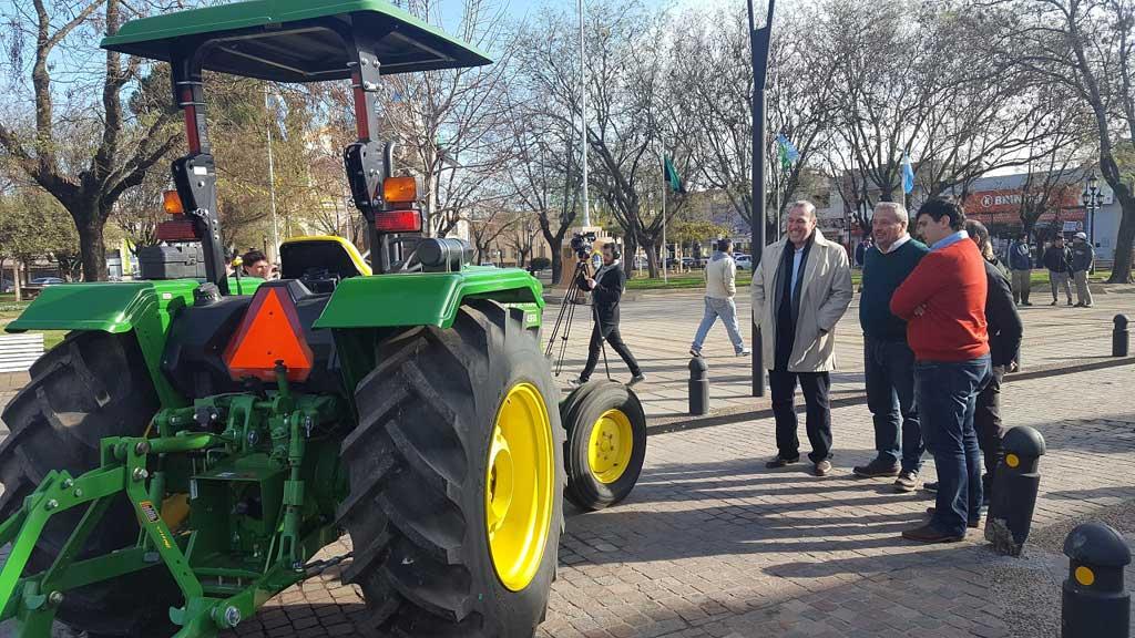 El municipio incorporó maquinaria para Parques y Paseos
