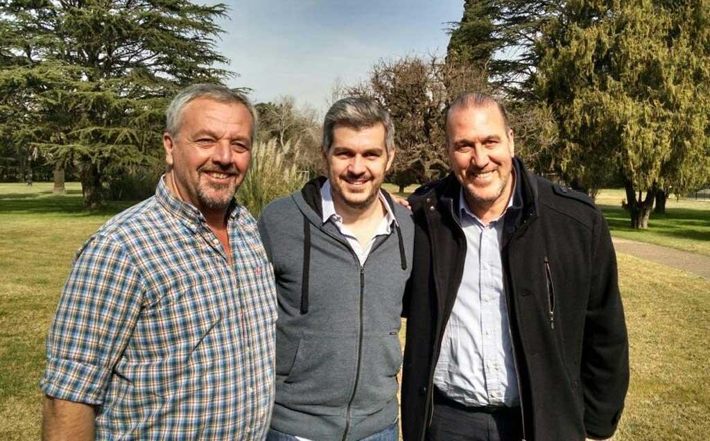 Rossi y Armellini se reunieron con Marcos Peña y otros candidatos de Cambiemos