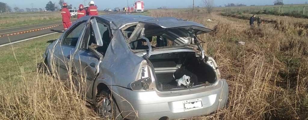 Una joven murió tras un accidente automovilístico en inmediaciones de la localidad de Ascensión