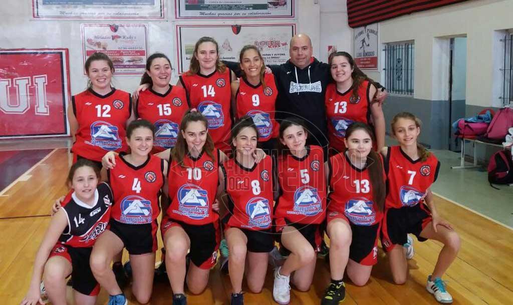 Básquet: las chicas de Sportivo jugaron el provincial U17