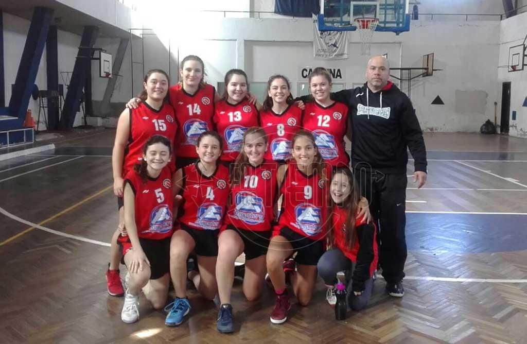 Básquet: gran actuacion de las chicas de Sportivo en el provincial