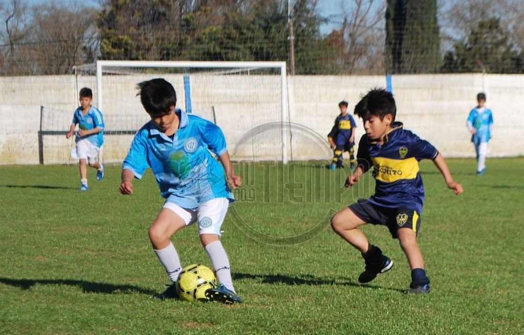 Fútbol infanto - juvenil: programa de partidos para el sábado