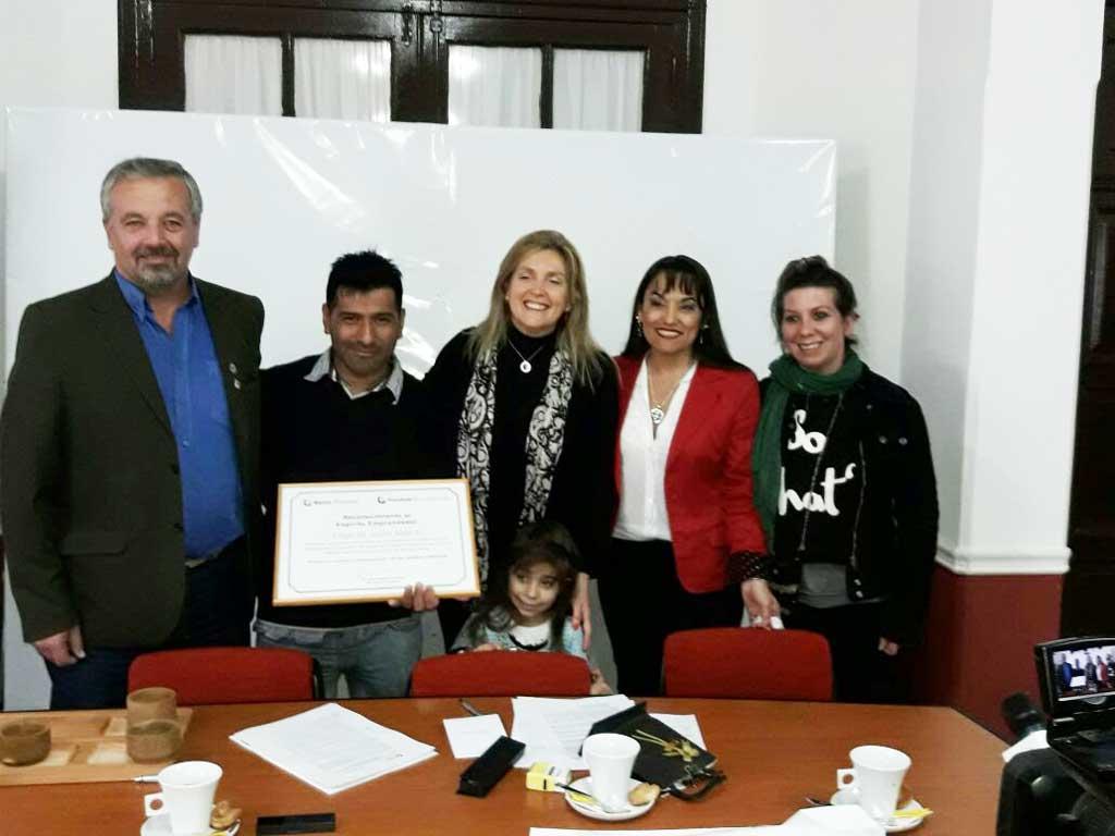 Municipio y Provincia Microempresas firmaron convenio
