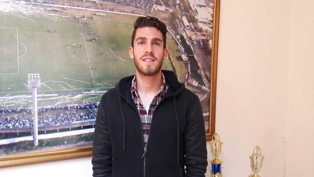 Ramiro Arias se transformó en jugador de Sarmiento de Junín