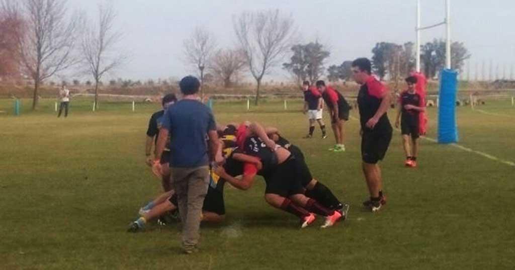 Rugby: los M17 jugaron un torneo amistoso