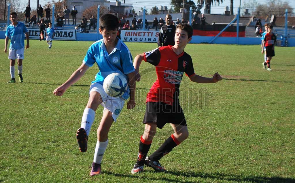 Fútbol: la actividad infanto - juvenil se reprogramó el próximo sábado