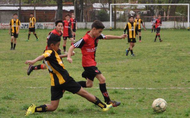 Fútbol: se juegan las semifinales de ida en inferiores