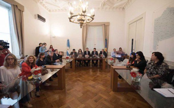 Mosca con intendentes dan un paso más contra la violencia de género