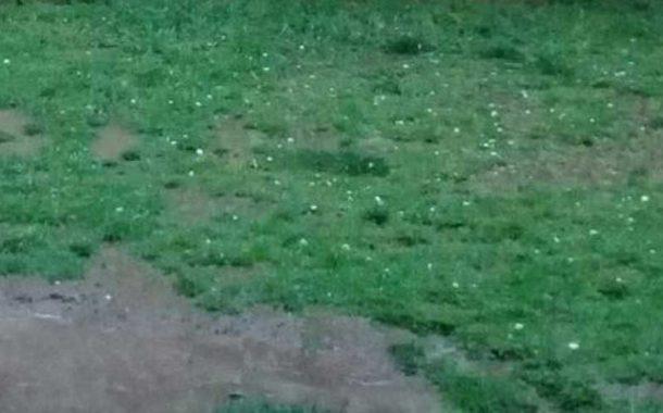 Lluvia y granizo en Rojas y varias localidades del centro del país