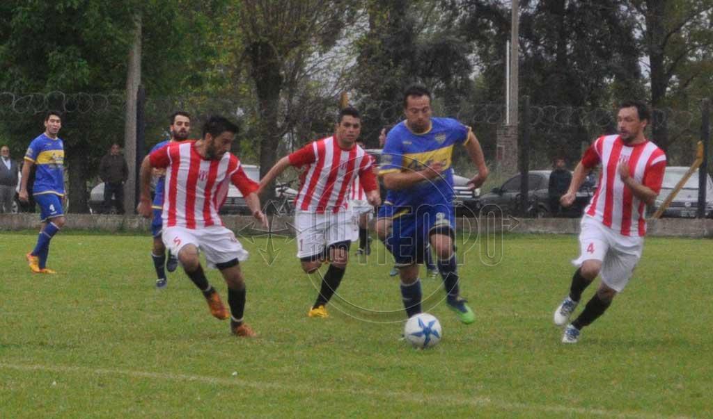 Fútbol: Juventud goleó a Boca Jrs.; Empataron Deportivo Unión y Argentino