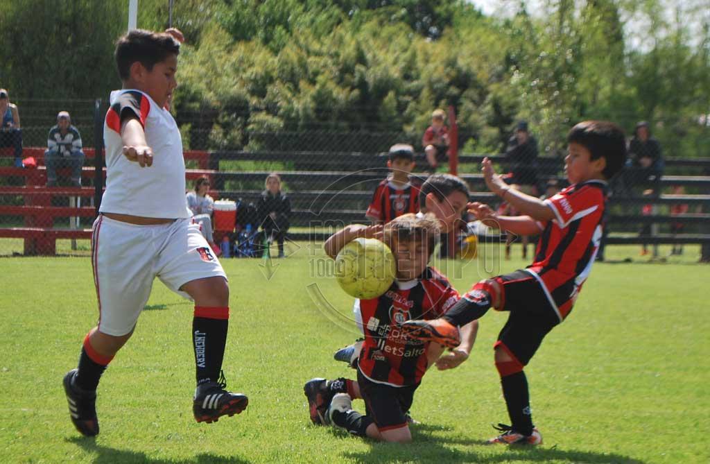 Fútbol: programa de partidos para inferiores y escuelitas