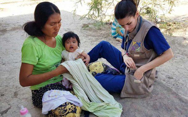 Las pediatras Menoyo y Guilera realizaron tareas solidarias en Salta