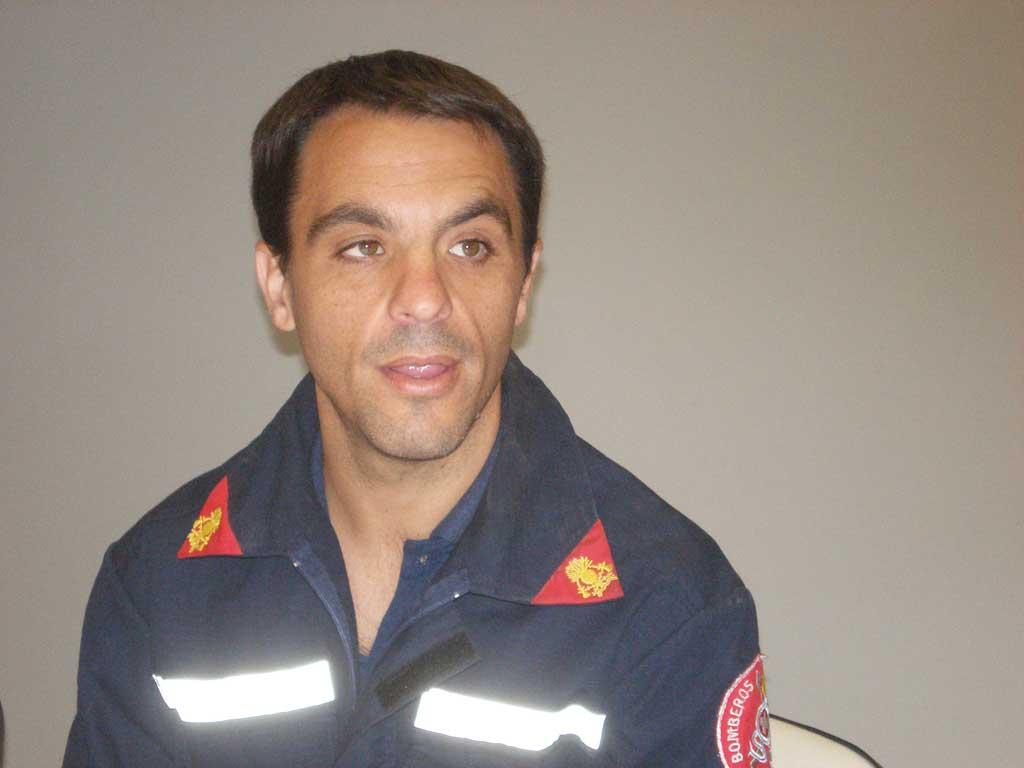 Bomberos rojenses participaron de capacitación en Mar del Plata